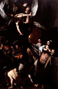 Caravaggio - Sette opere di carità